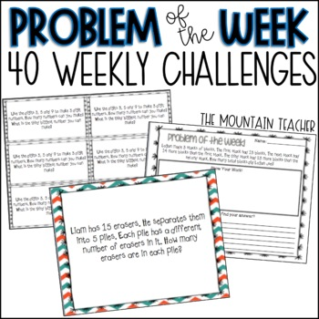 Second Grade Challenge Problem of the Week