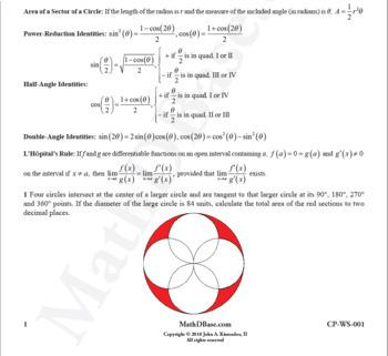 Challenge Problems Worksheets 1