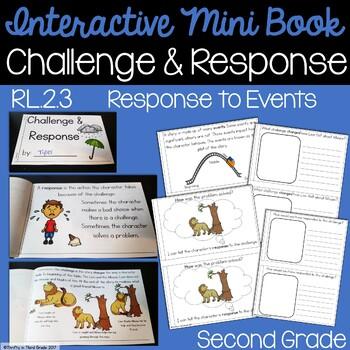Challenge & Response Interactive Mini Book {RL.2.3}