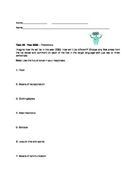 Challenge Task #5 - Year 2080