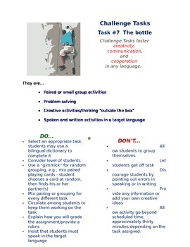 Challenge Task #7 - The Bottle