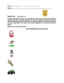 Challenge Task #8- Clue