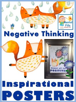 CBT Inspirational Posters: Challenge Negative Thinking and Improve Mood