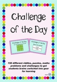 Challenge of The Day Package - puzzles and riddles to get