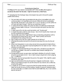 Challenger Deep Comprehension Questions
