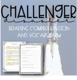 Challenger Disaster: Reading Comprehension and Vocabulary
