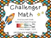 MATH: Challenger Math- 1st & 2nd Grade Math Puzzles