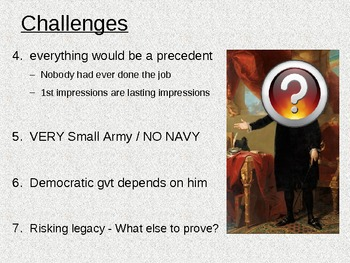 Challenges Faced by Washington's Presidency