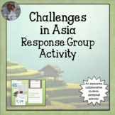 Challenges in Asia Response Group Activity or Centers Activity