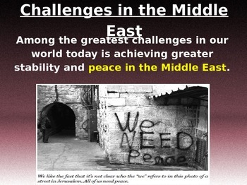 Challenges in the Middle East, Terrorism