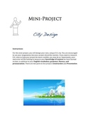 Challenges of Urbanization - City Design - Student Mini-Project