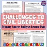 Challenges to Civil Liberties Primary Source Lesson