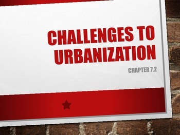 Challenges to Urbanization