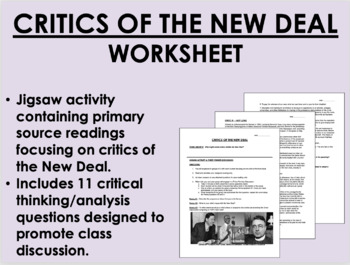 Challenges to the New Deal - FDR - US History/APUSH - Common Core