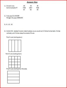 Weekly Critical-Thinking Math Word Problems