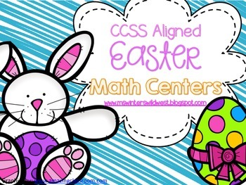 Challenging Easter Math Centers for Third Grade