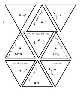 Challenging Fraction/Order of Operation Puzzle