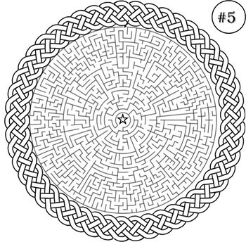 Challenging Mazes and Answers- Mazes Puzzle Book- Problem Solving Activities