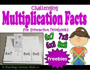 Challenging Multiplication Facts