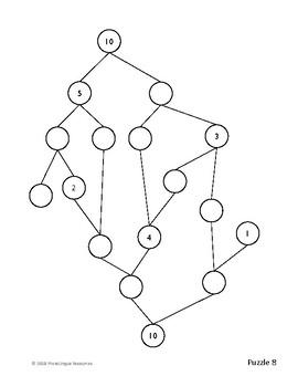Challenging Number Bond Trees