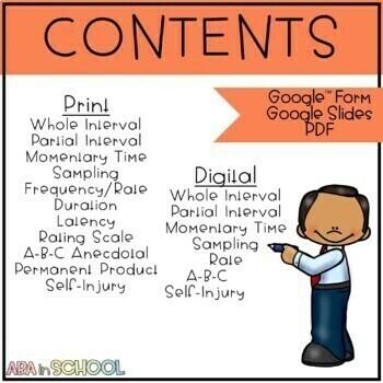 Challenging/Problem Behavior Google Forms