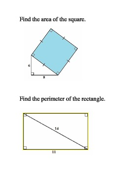 Challenging Problems for Geometry Students