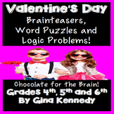 Valentine's Day Logic,  Word Puzzles, and Brain Teasers