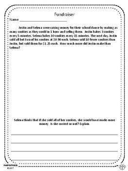 Challenging Word Problems - 5th Grade - Multi-Step - Volume 2