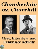 Chamberlain and Churchill Interview Review Activity