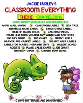 Chameleon, Chameleon, Beginning of School, August Everything