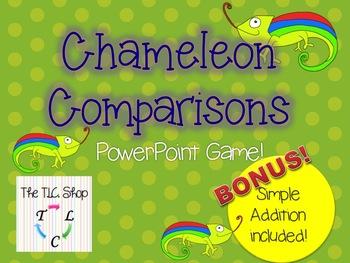 Chameleon Comparisons PPT Game