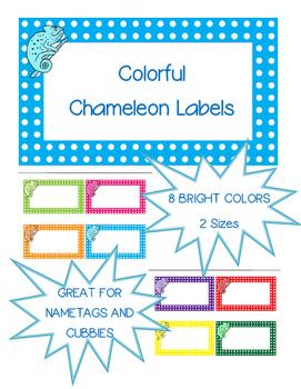 Chameleon Labels
