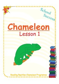 Chameleon Lesson 1: Reading and Spelling 'ing' words