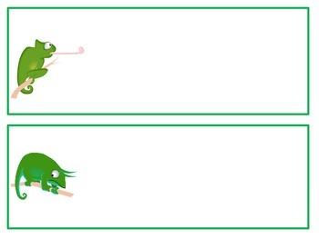Chameleon Name Plates