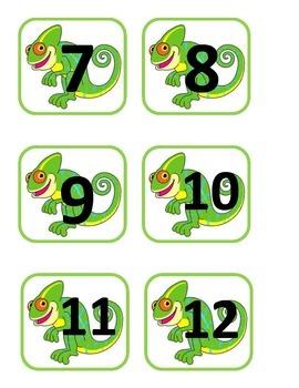 Chameleon Number Squares
