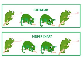 Chameleon Wall Center Signs