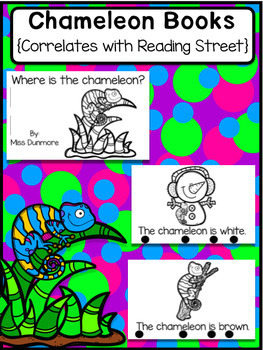 Chameleon book in English Reader for students (Simple Version)