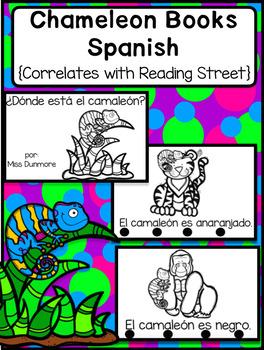 Chameleon book in Spanish/ libro de camaleon (Simple version)