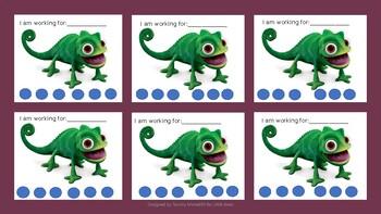 Chameleon punch card