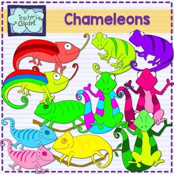 Chameleons Clipart