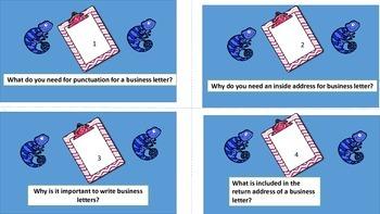 Chameleons Mini Posters and Mini Task Cards