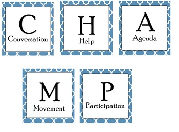 Champ Cards Moroccan Tile (Middle School Minions)