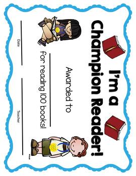 Champion Reader Challenge: 100 Book Challenge
