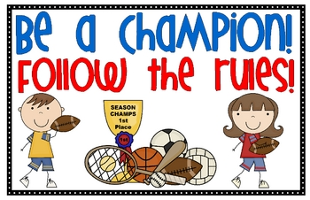 Champion Sports Kids Rules