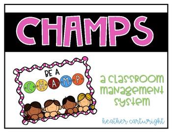 Champs Behavior Management Chart