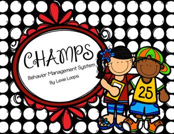 Champs: Behavior Management Program
