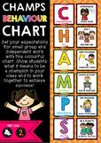 Champs Behaviour & Expectations Chart