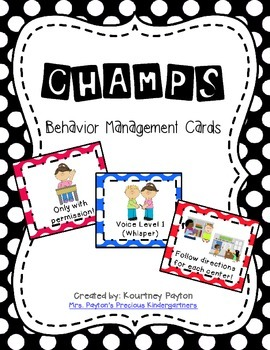 CHAMPS Display Cards