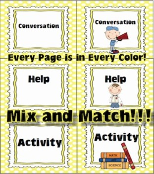 Champs Charts & Posters for Classroom Management