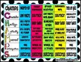 Champs Expectation Chart- Polka Dots